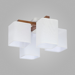 Люстра TK Lighting 4163 Tora White