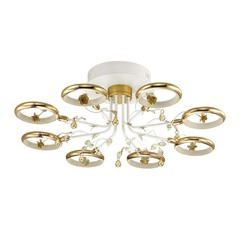 Люстра Odeon Light  FIUGGI 4036/48L белый